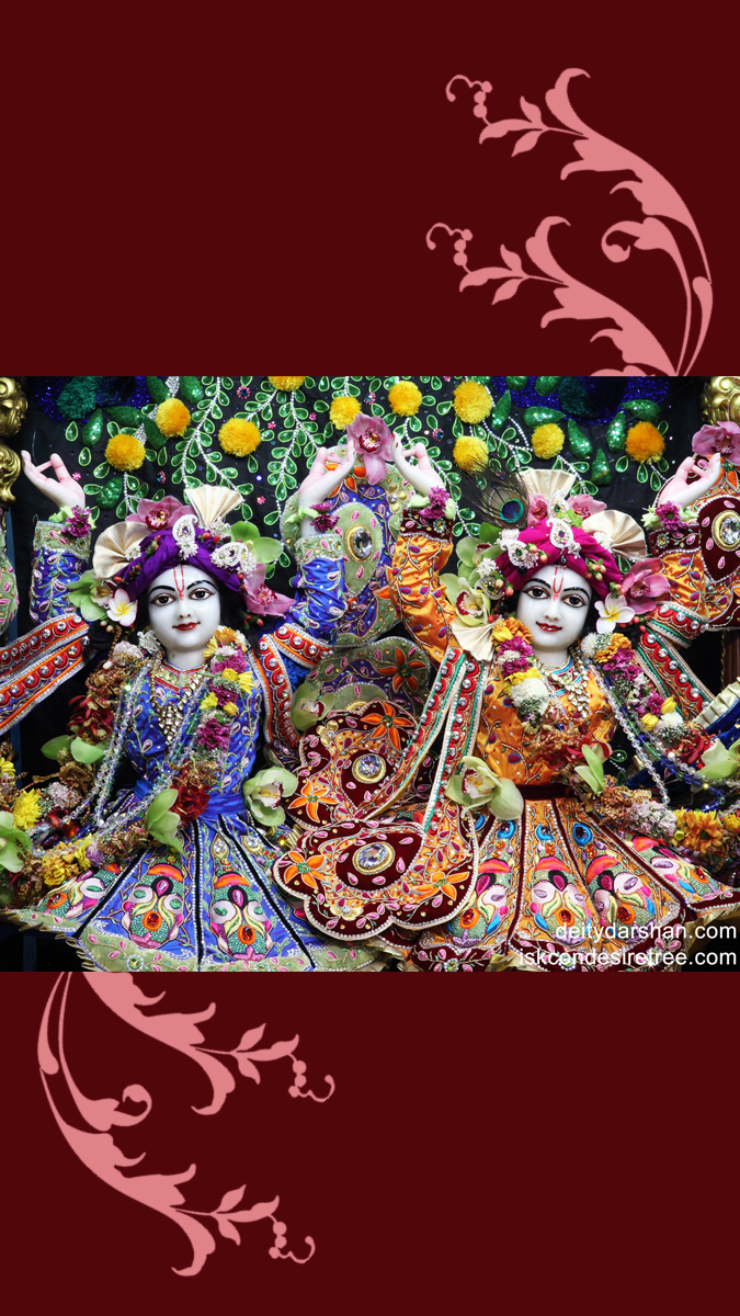 Sri Sri Nitai Gaurachandra Close up Wallpaper (005) Size 675x1200 Download