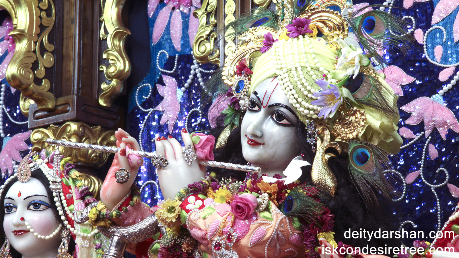 Sri Gopinath Close up Wallpaper (006) Size 1600x900 Download