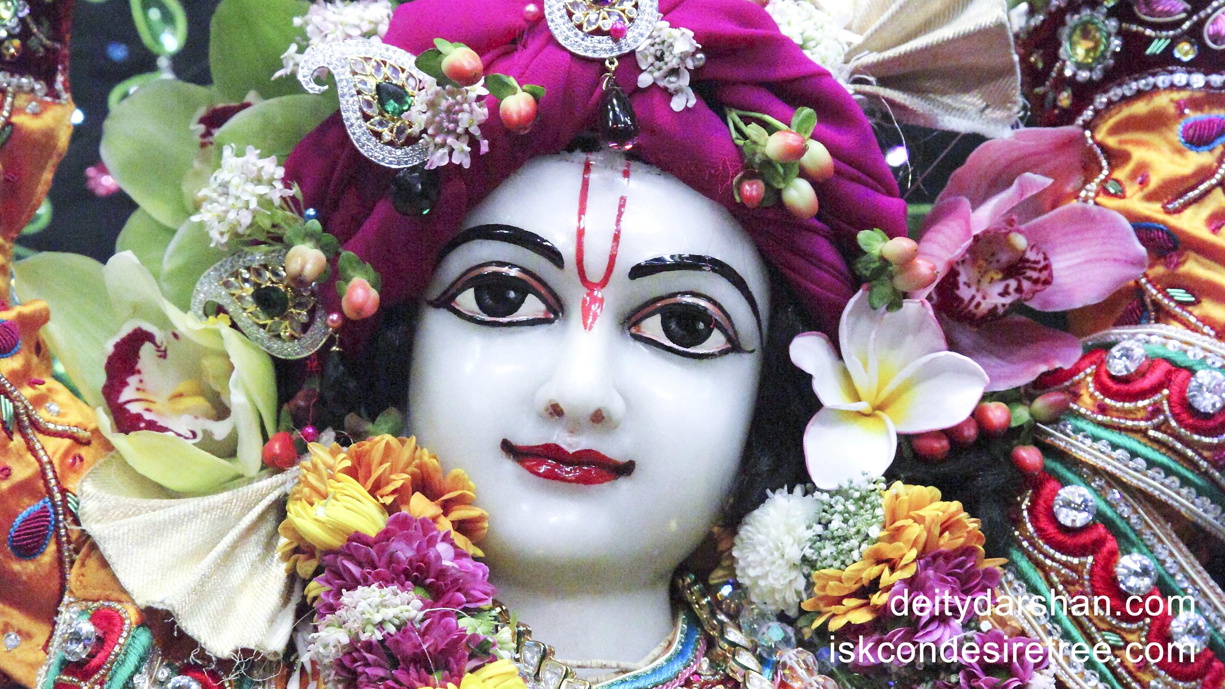 Sri Gaurachandra Close up Wallpaper (008) Size 2400x1350 Download