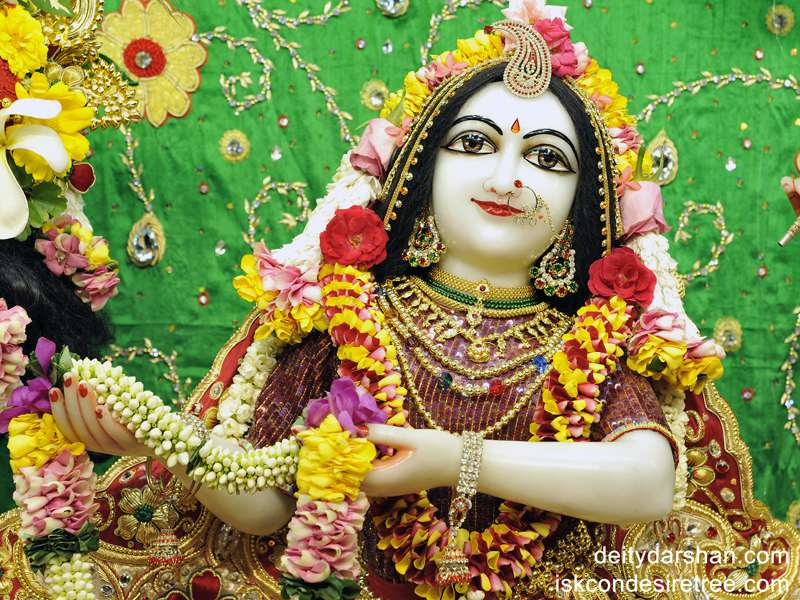 Srimati Radharani Close up Wallpaper (008)