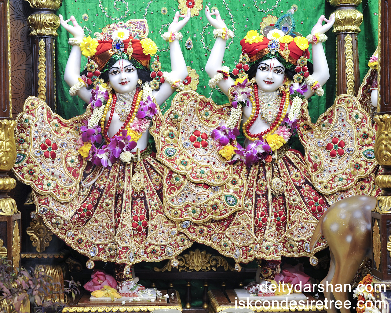 Sri Sri Nitai Gaurachandra Wallpaper (008) Size 1280x1024 Download