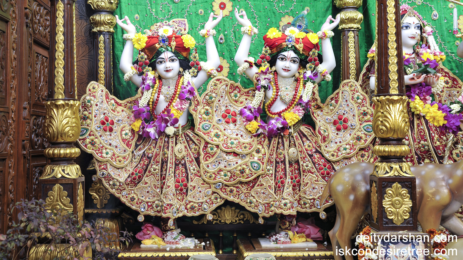Sri Sri Nitai Gaurachandra Wallpaper (008) Size 1600x900 Download