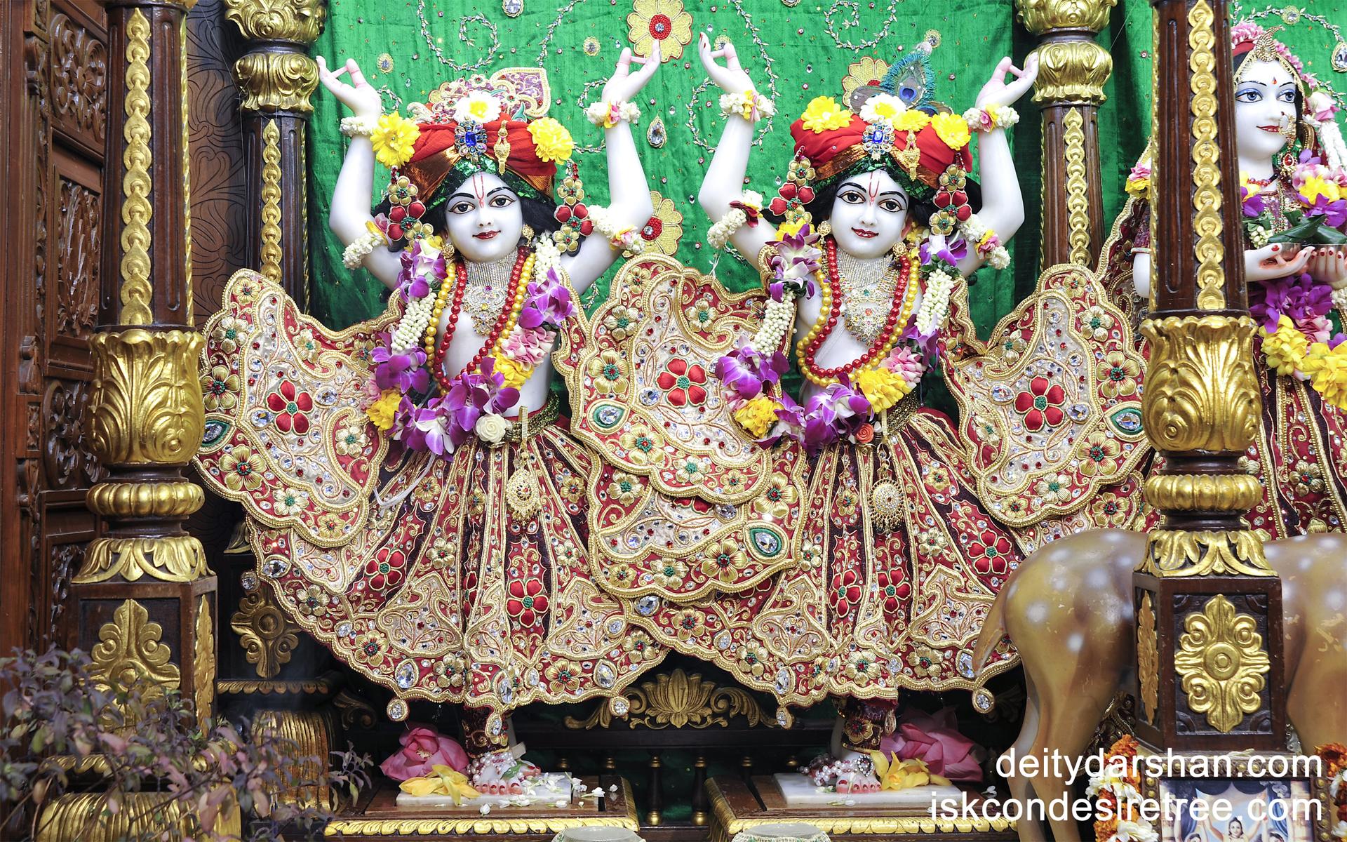 Sri Sri Nitai Gaurachandra Wallpaper (008) Size 1920x1200 Download
