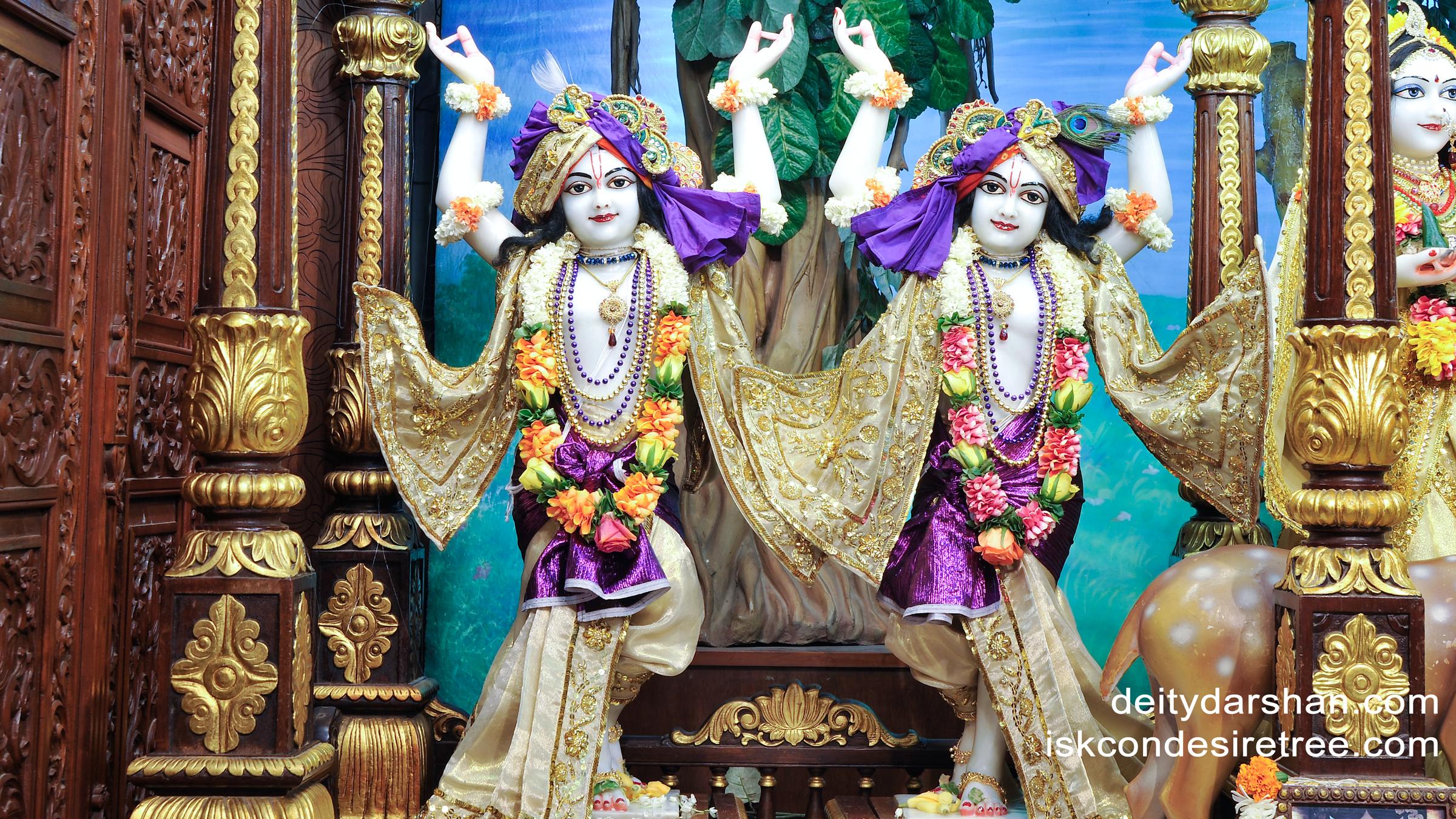 Sri Sri Nitai Gaurachandra Wallpaper (010) Size 2400x1350 Download
