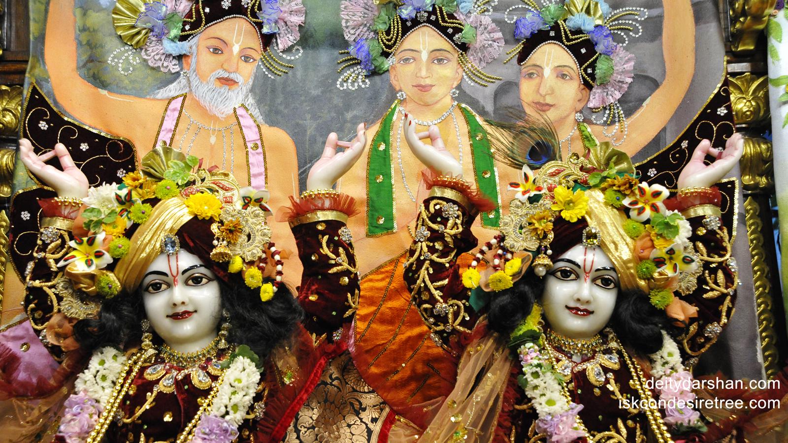 Sri Sri Nitai Gaurachandra Close up Wallpaper (011) Size 1600x900 Download