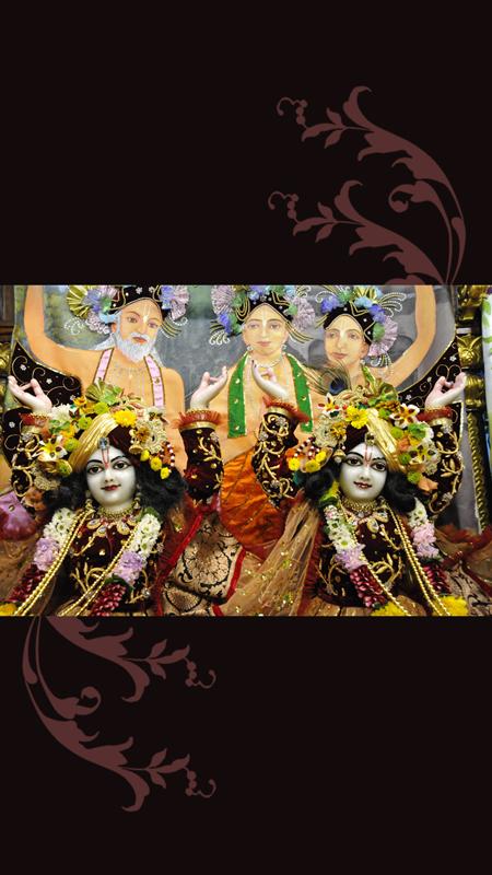 Sri Sri Nitai Gaurachandra Close up Wallpaper (011) Size 450x800 Download