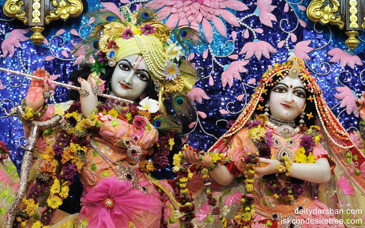 Sri Sri Radha Gopinath Close up Wallpaper (011) Size 1280x800 Download