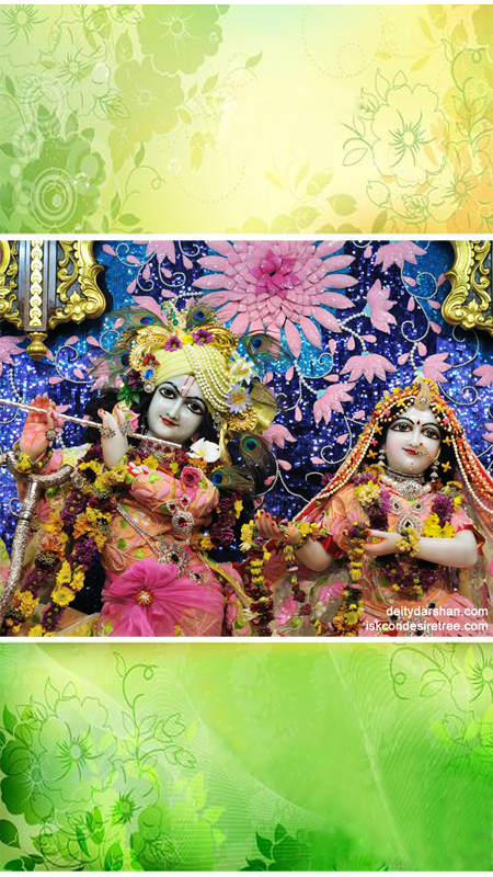 Sri Sri Radha Gopinath Close up Wallpaper (011) Size 450x800 Download
