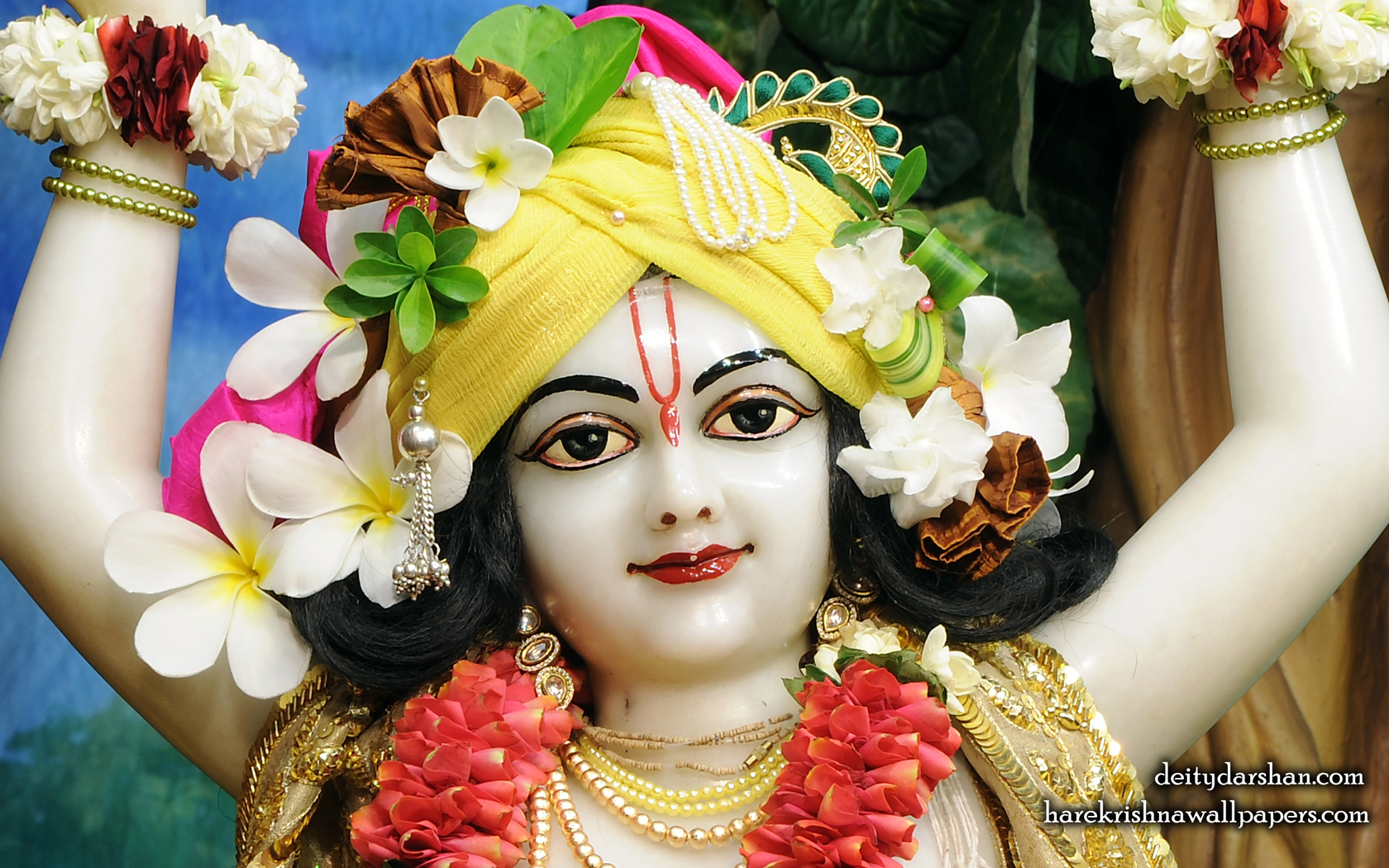 Sri Nitai Close up Wallpaper (013) Size 1680x1050 Download