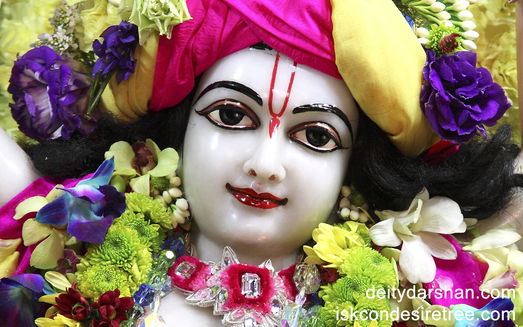Sri Gaurachandra Close up Wallpaper (015) Size 1680x1050 Download