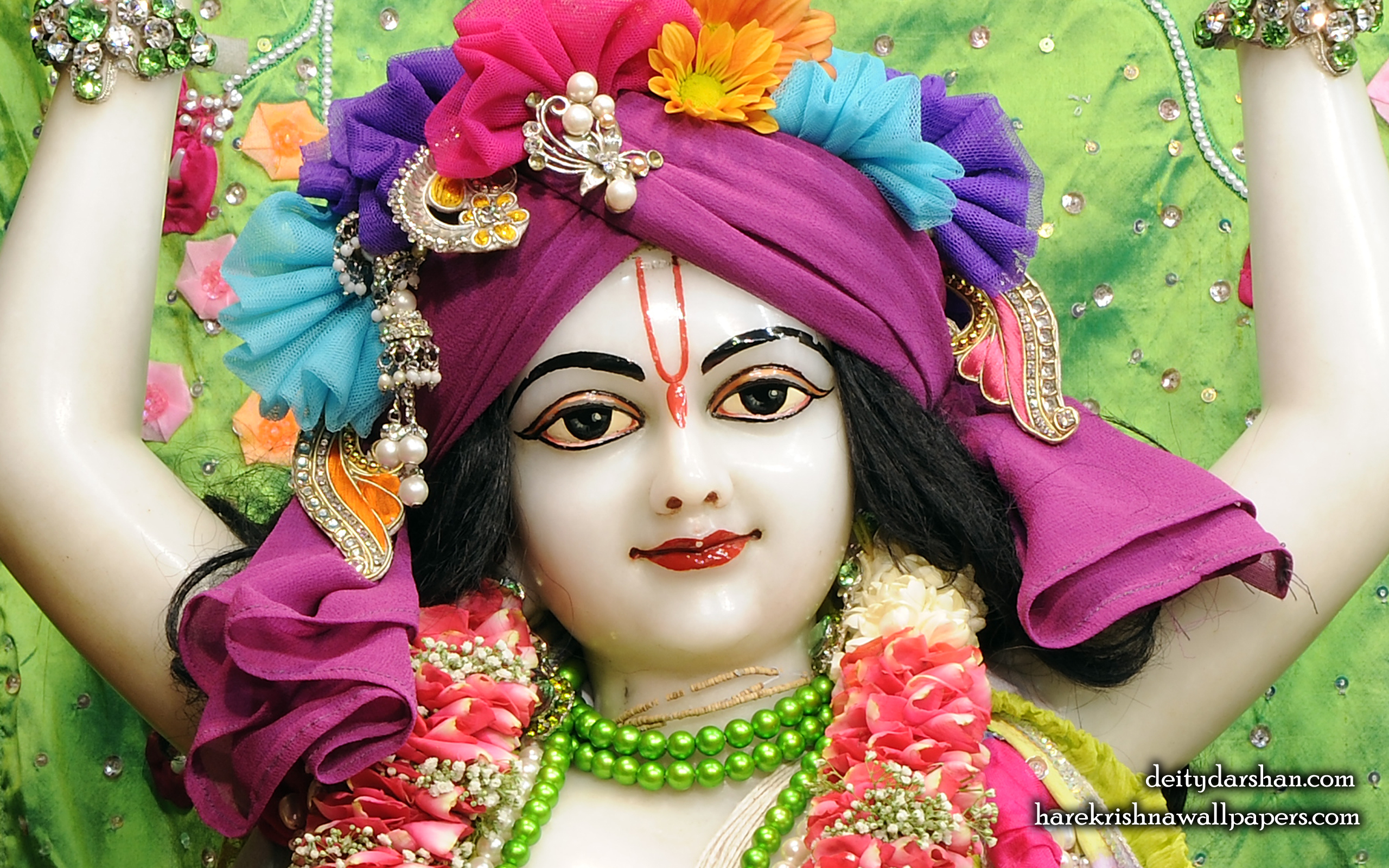 Sri Nitai Close up Wallpaper (015) Size 2560x1600 Download