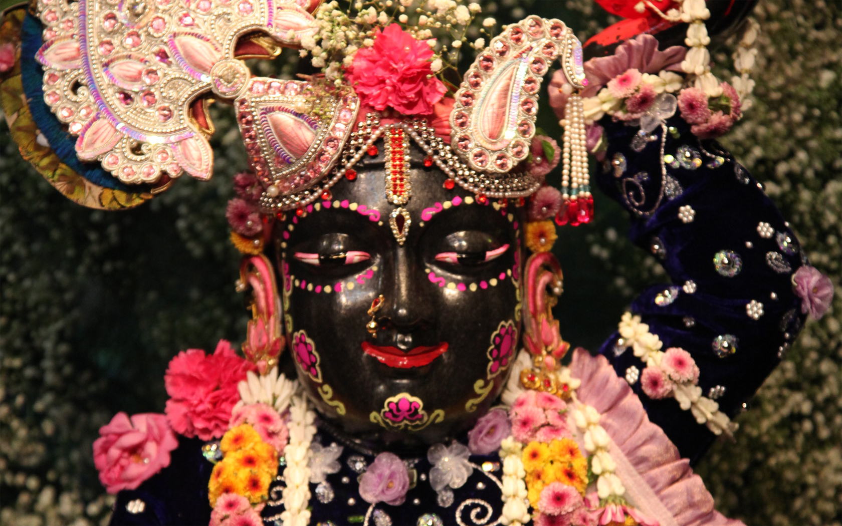 Sri Gopal Close up Wallpaper (017) Size 1680x1050 Download