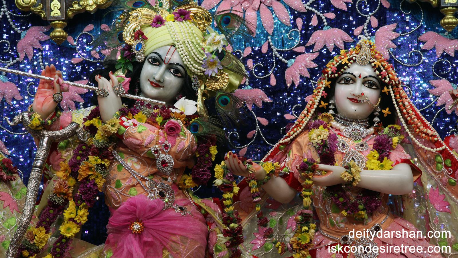 Sri Sri Radha Gopinath Close up Wallpaper (018) Size 1600x900 Download