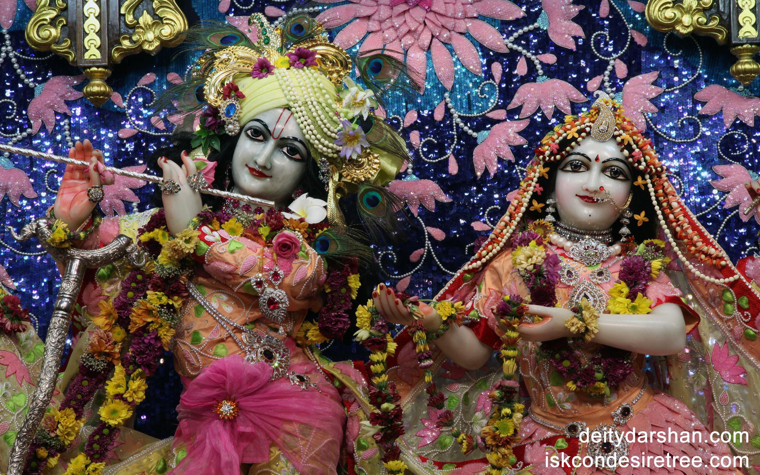 Sri Sri Radha Gopinath Close up Wallpaper (018) Size 2560x1600 Download