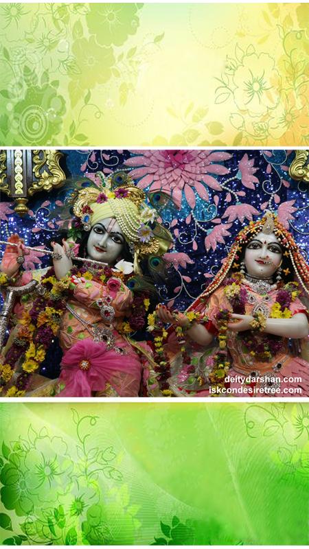 Sri Sri Radha Gopinath Close up Wallpaper (018) Size 450x800 Download