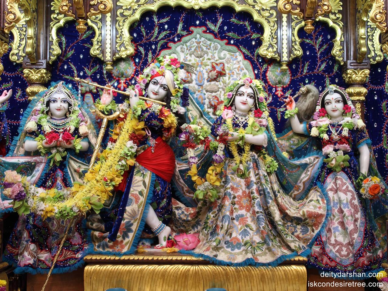 Sri Sri Radha Gopinath Lalita Vishakha Wallpaper (018) Size 1280x960 Download