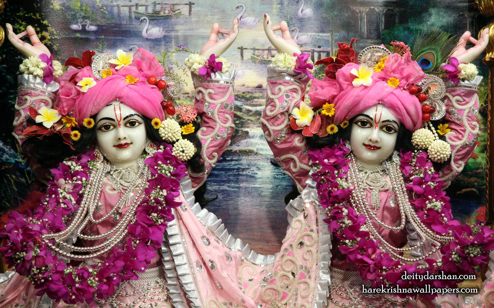 Sri Sri Nitai Gaurachandra Close up Wallpaer (019) Size 1680x1050 Download