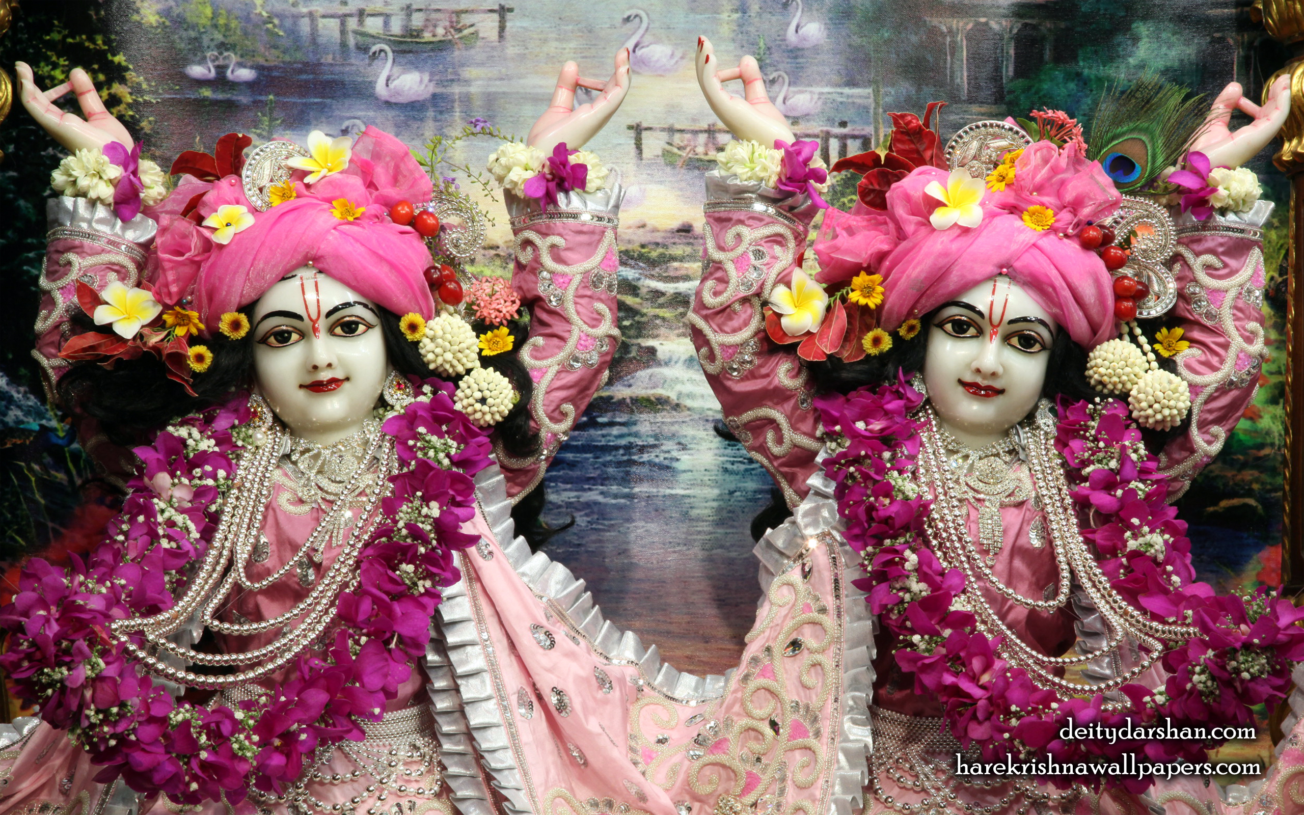 Sri Sri Nitai Gaurachandra Close up Wallpaer (019) Size 2560x1600 Download
