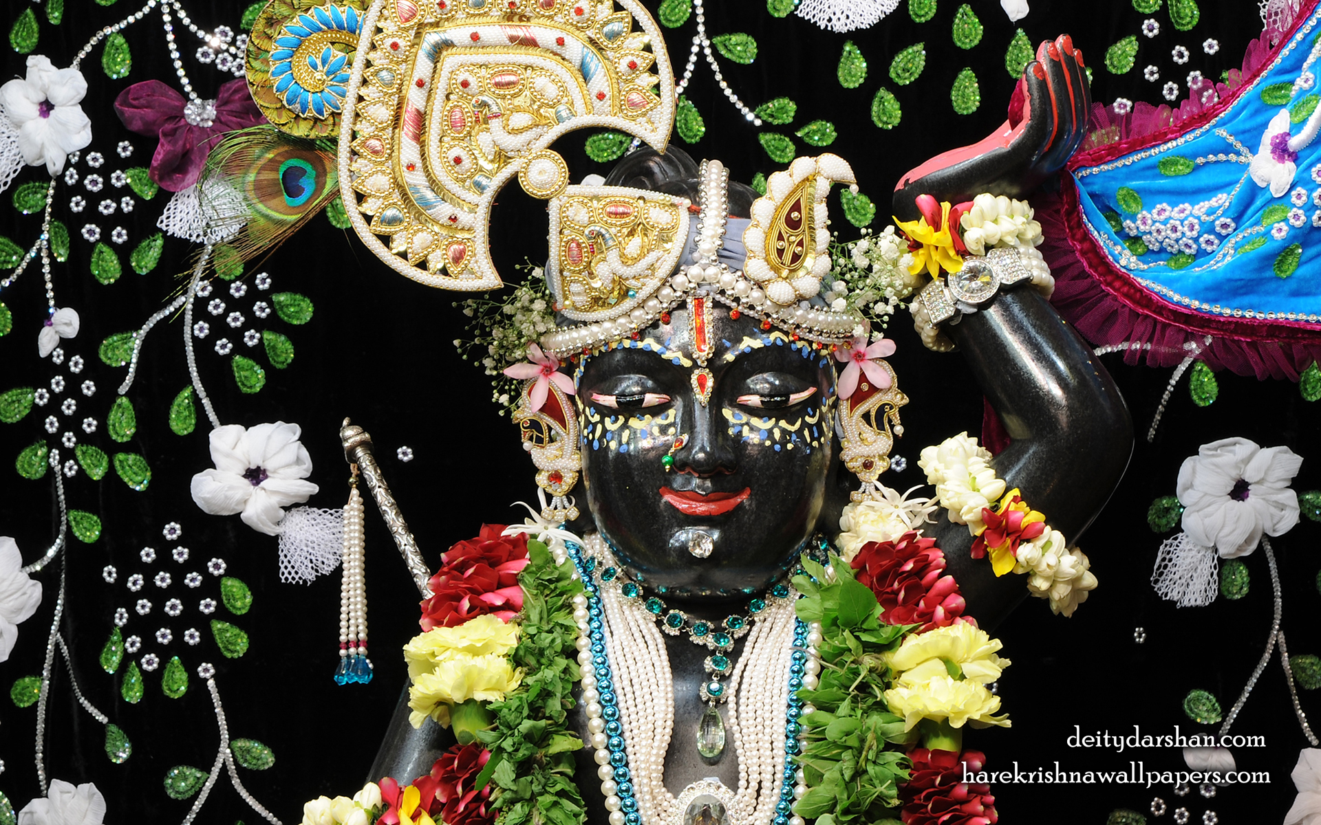 Sri Gopal Close up Wallpaper (021) Size 1920x1200 Download