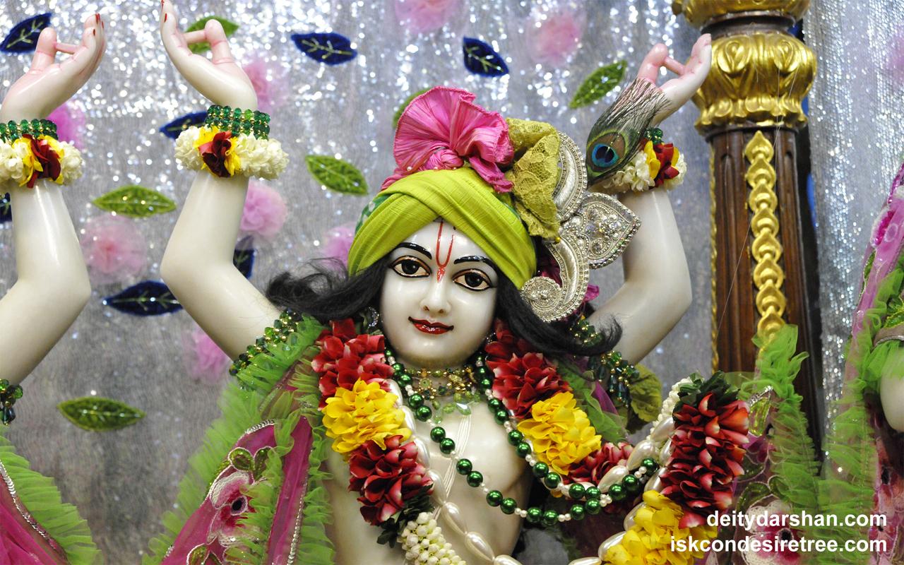 Sri Gaurachandra Close up Wallpaper (022) Size 1280x800 Download