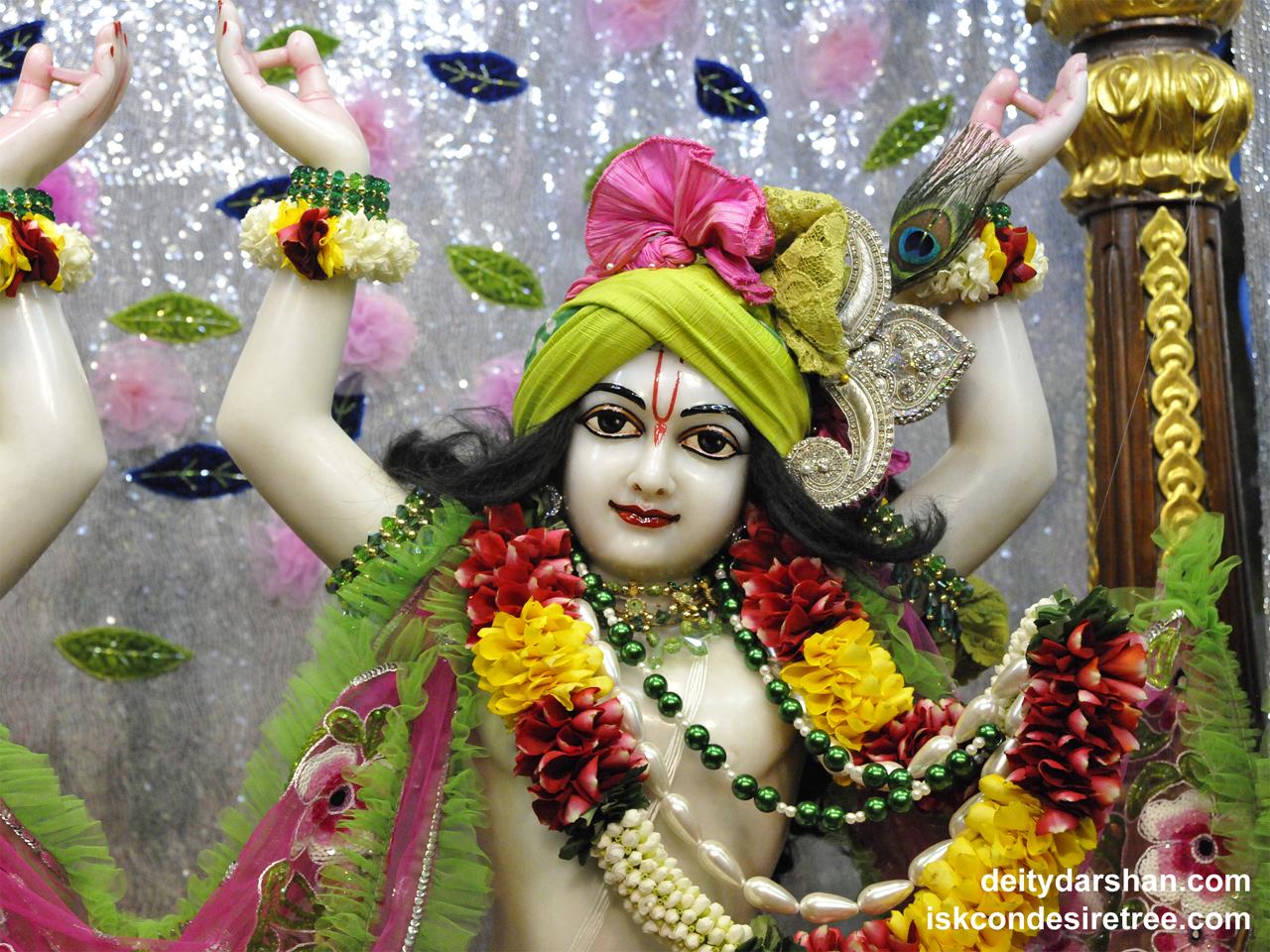 Sri Gaurachandra Close up Wallpaper (022) Size 1280x960 Download