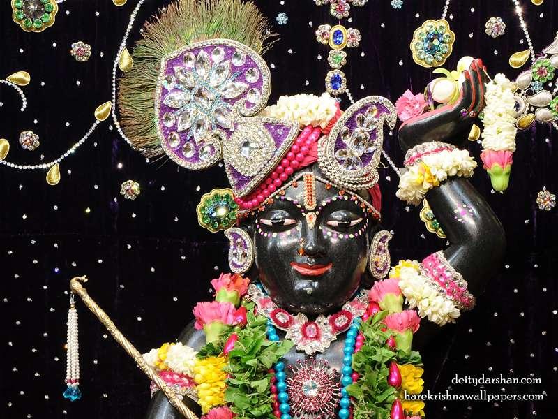 Sri Gopal Close up Wallpaper, Hare Krishna Wallpapers, Free download wallpapers.