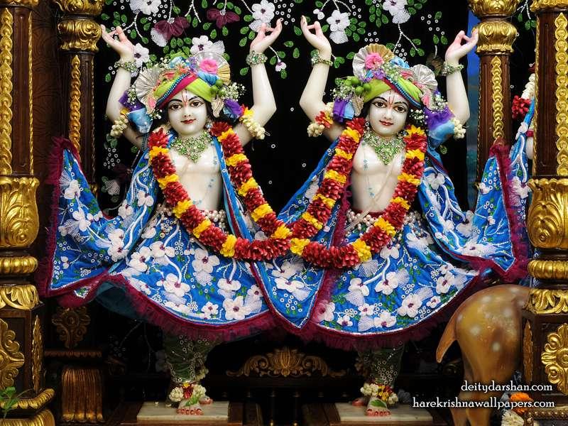 Sri Sri Nitai Gaurachandra Wallpaper, Hare Krishna Wallpapers