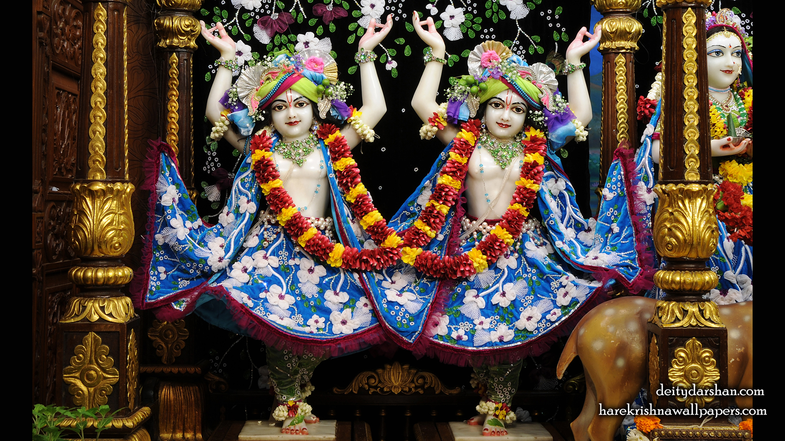 Sri Sri Nitai Gaurachandra Wallpaer (022) Size 1600x900 Download