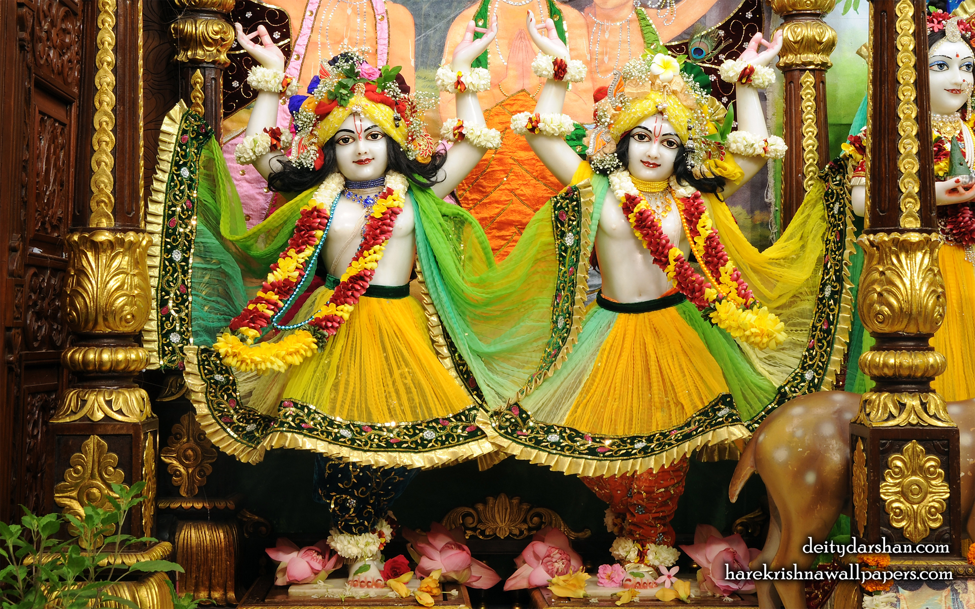 Sri Sri Nitai Gaurachandra Wallpaer (023) Size 1920x1200 Download