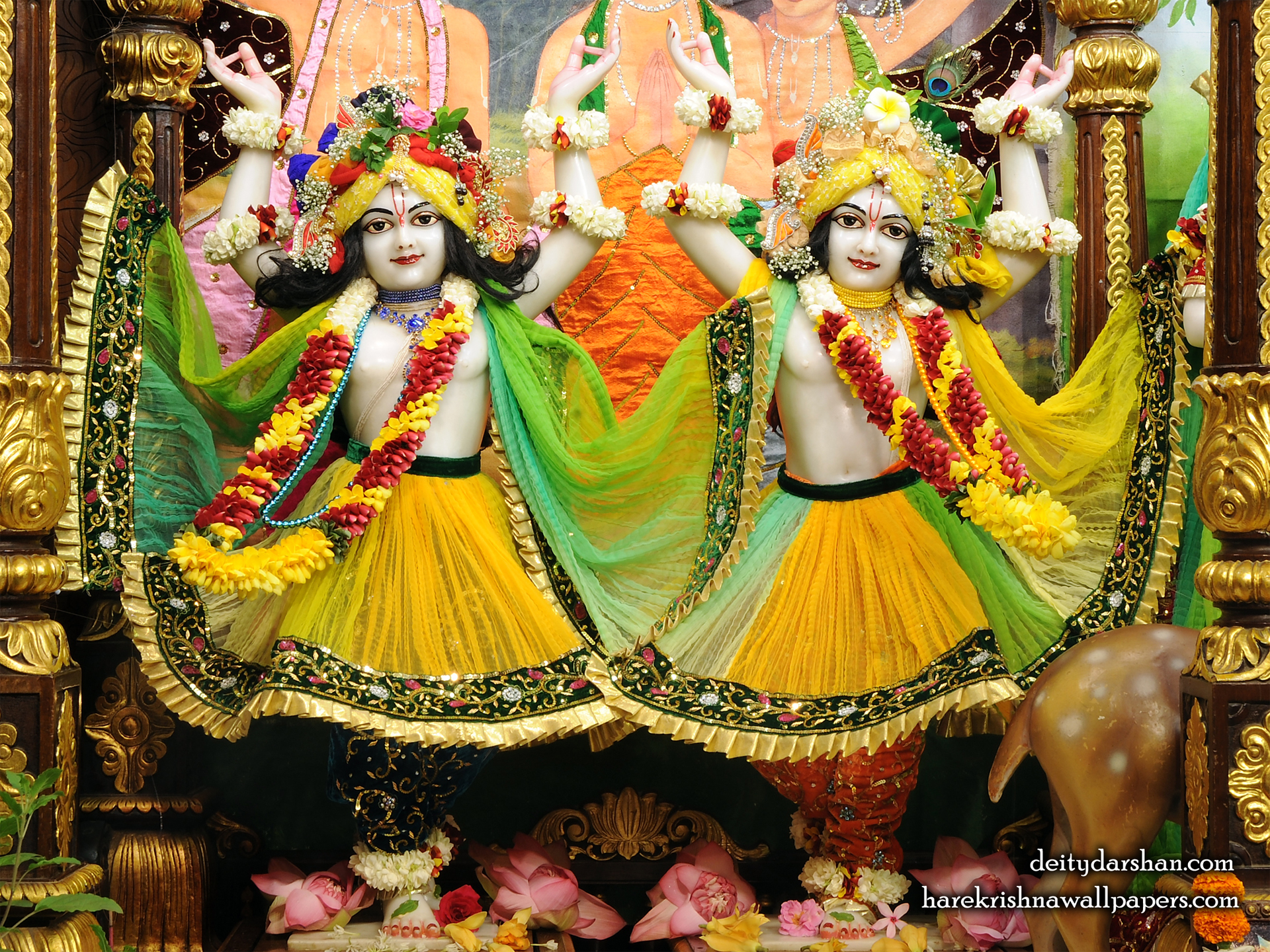 Sri Sri Nitai Gaurachandra Wallpaer (023) Size 1920x1440 Download
