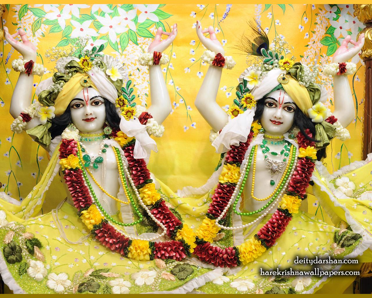 Sri Sri Nitai Gaurachandra Close up Wallpaer (023) Size 1280x1024 Download