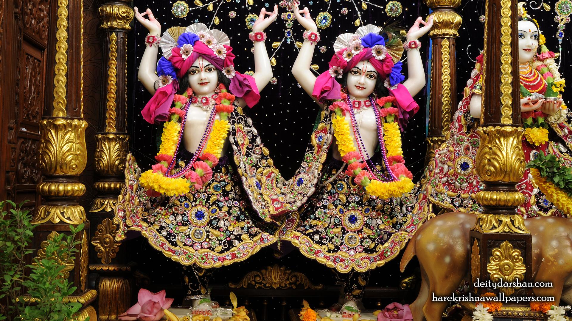 Sri Sri Nitai Gaurachandra Wallpaer (024) Size 1920x1080 Download