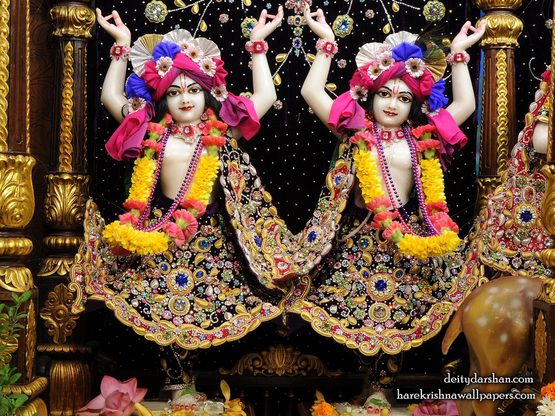 Sri Sri Nitai Gaurachandra Wallpaer (024) Size 1920x1440 Download