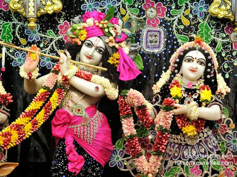 Sri Sri Radha Gopinath Close up Wallpaper (024)