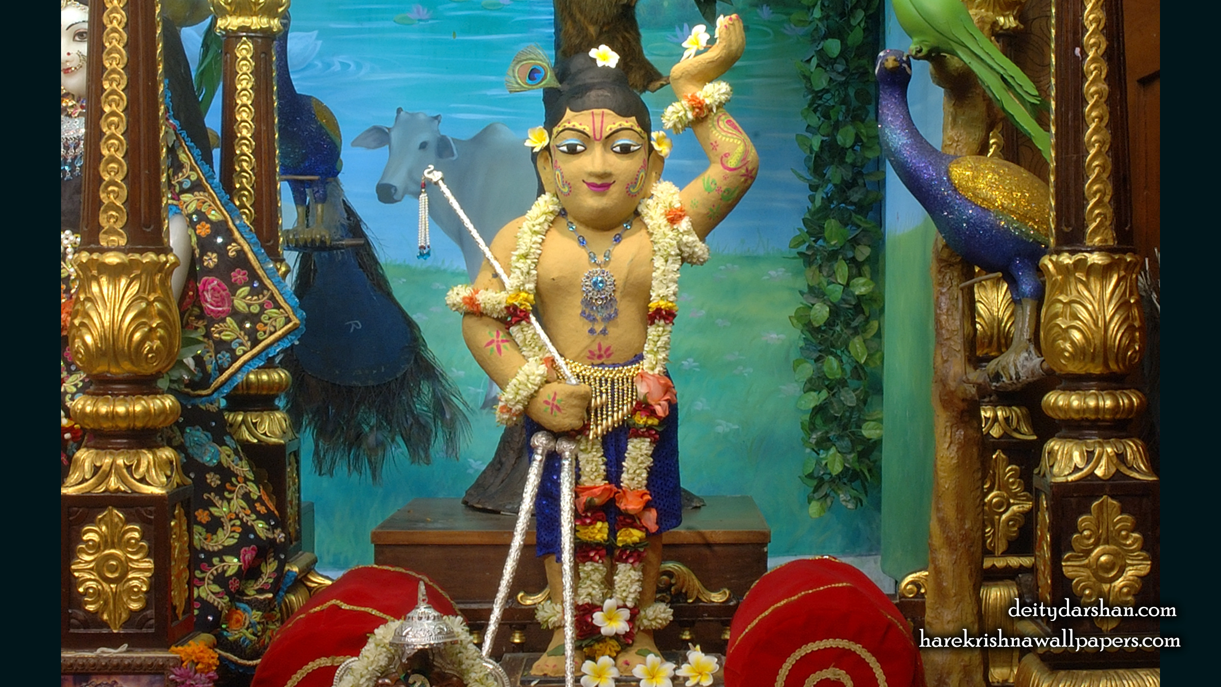 Sri Gopal Wallpaper (025) Size 2400x1350 Download