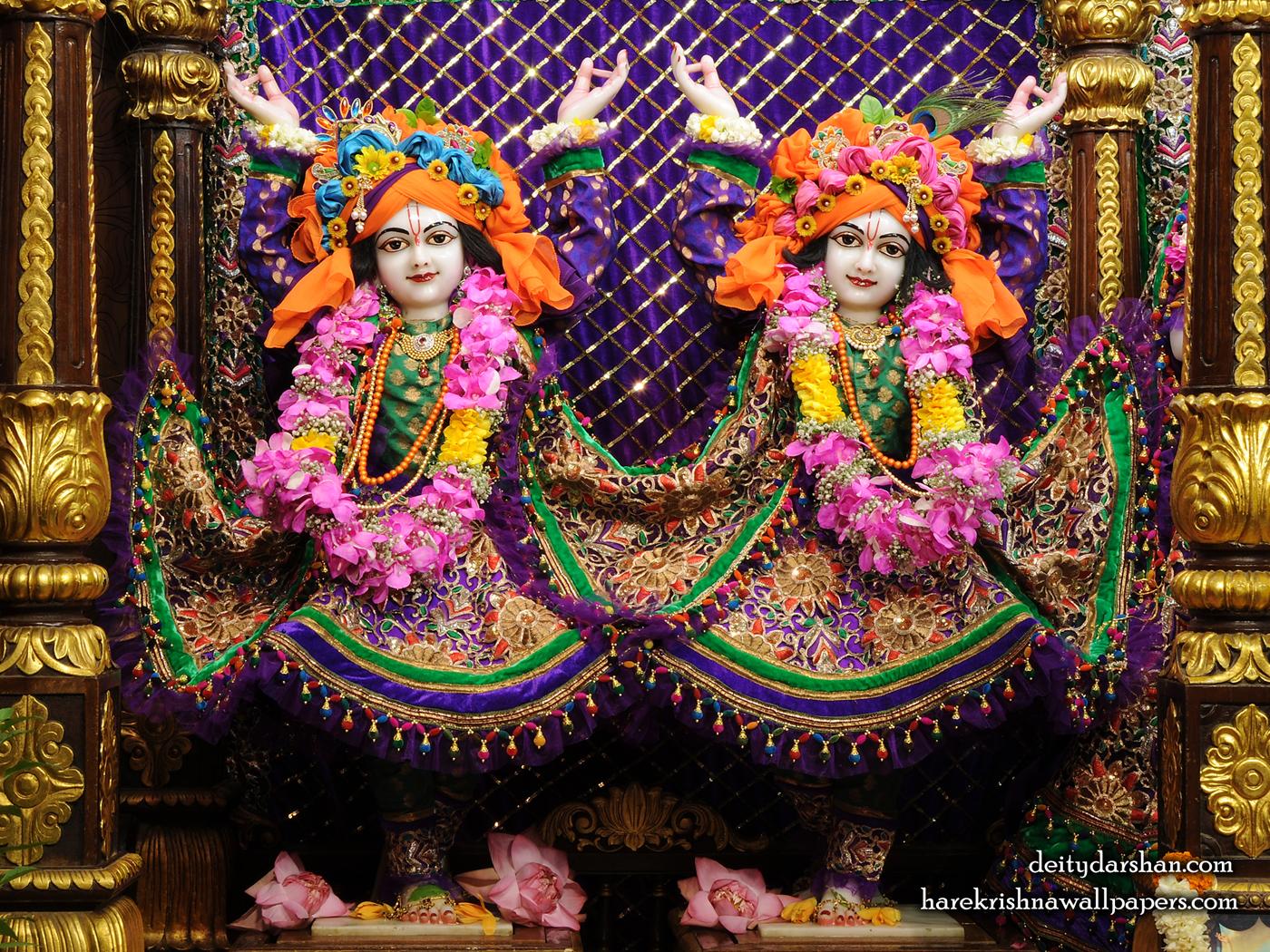 Sri Sri Nitai Gaurachandra Wallpaer (025) Size 1400x1050 Download