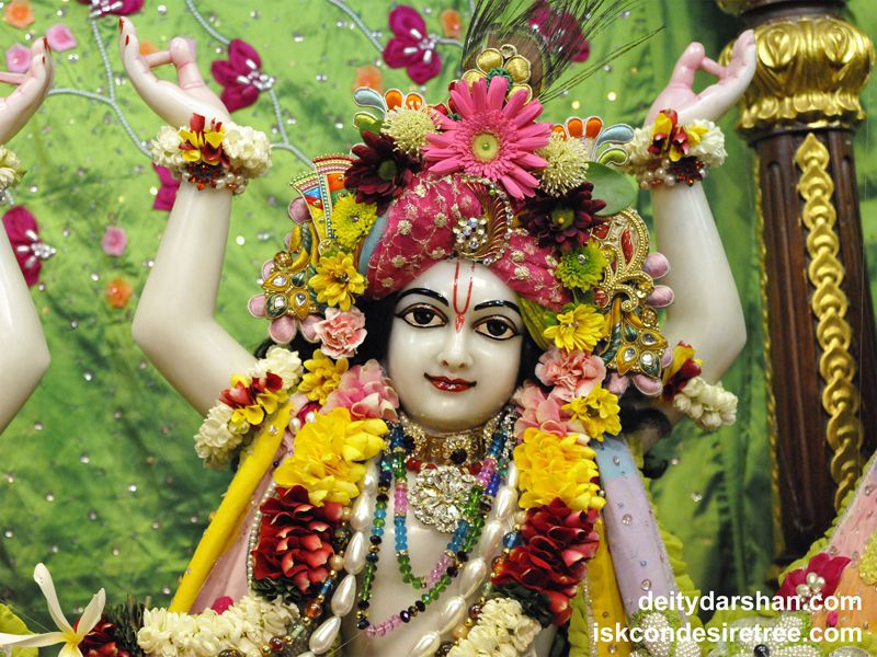 Sri Gaurachandra Close up Wallpaper (026)