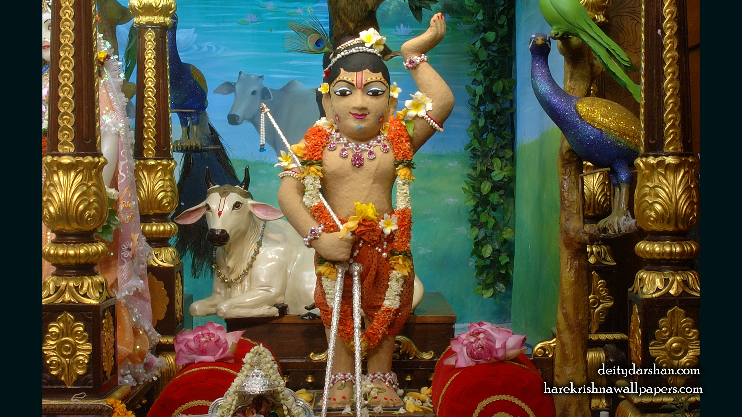 Sri Gopal Wallpaper (026) Size 2400x1350 Download