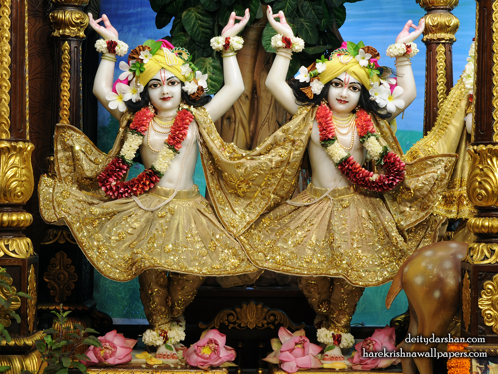 Sri Sri Nitai Gaurachandra Wallpaer (026) Size 1024x768 Download