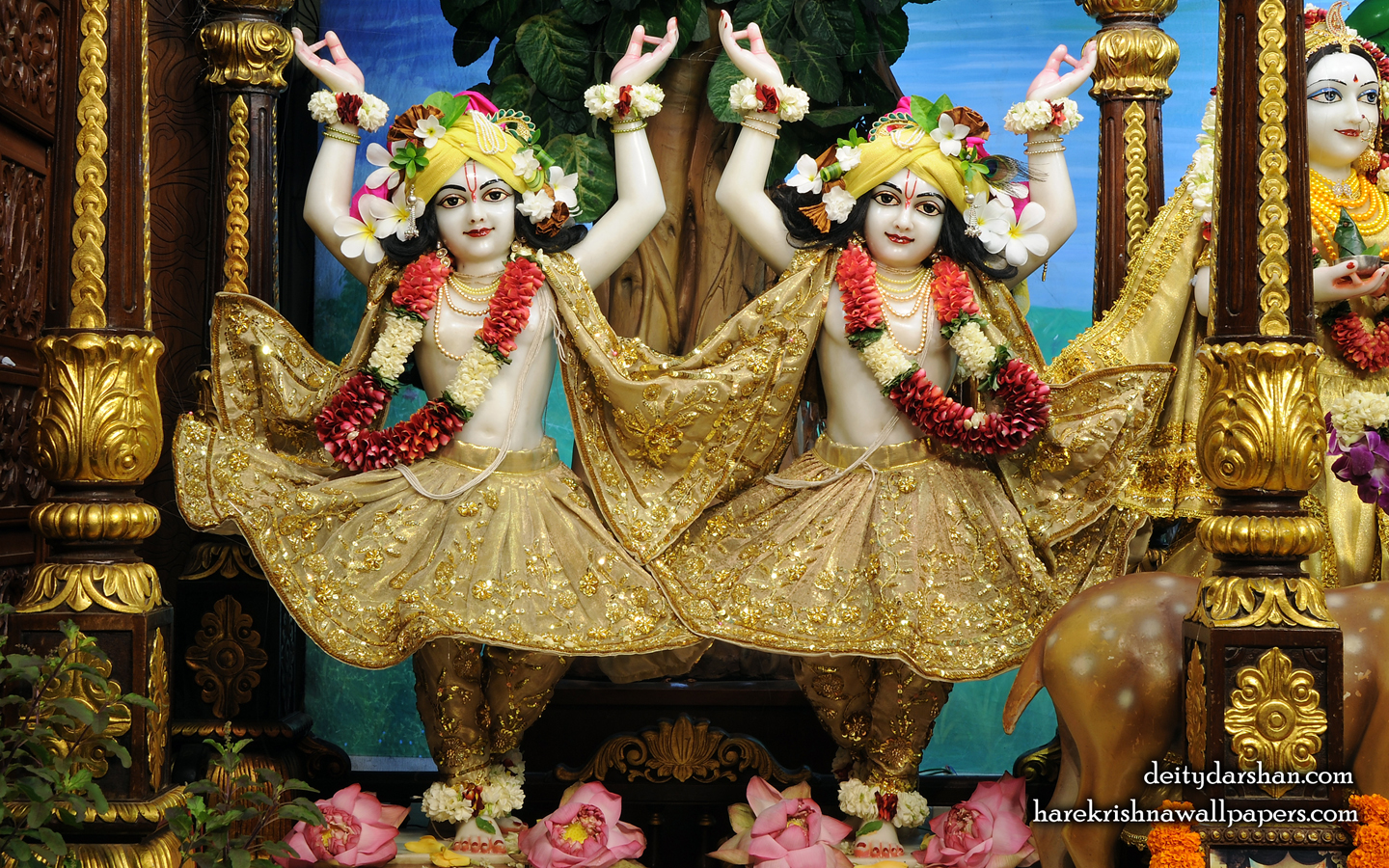 Sri Sri Nitai Gaurachandra Wallpaer (026) Size 1440x900 Download