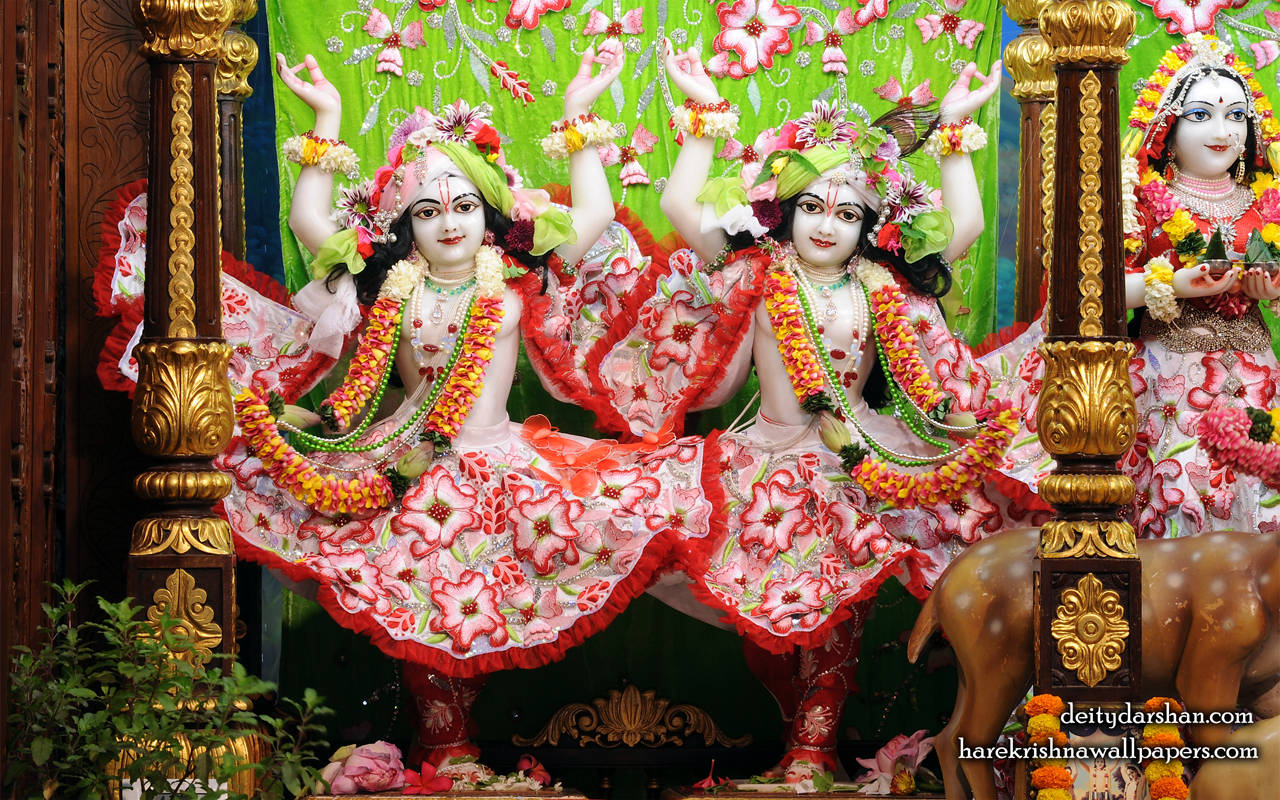 Sri Sri Nitai Gaurachandra Wallpaer (027) Size 1280x800 Download