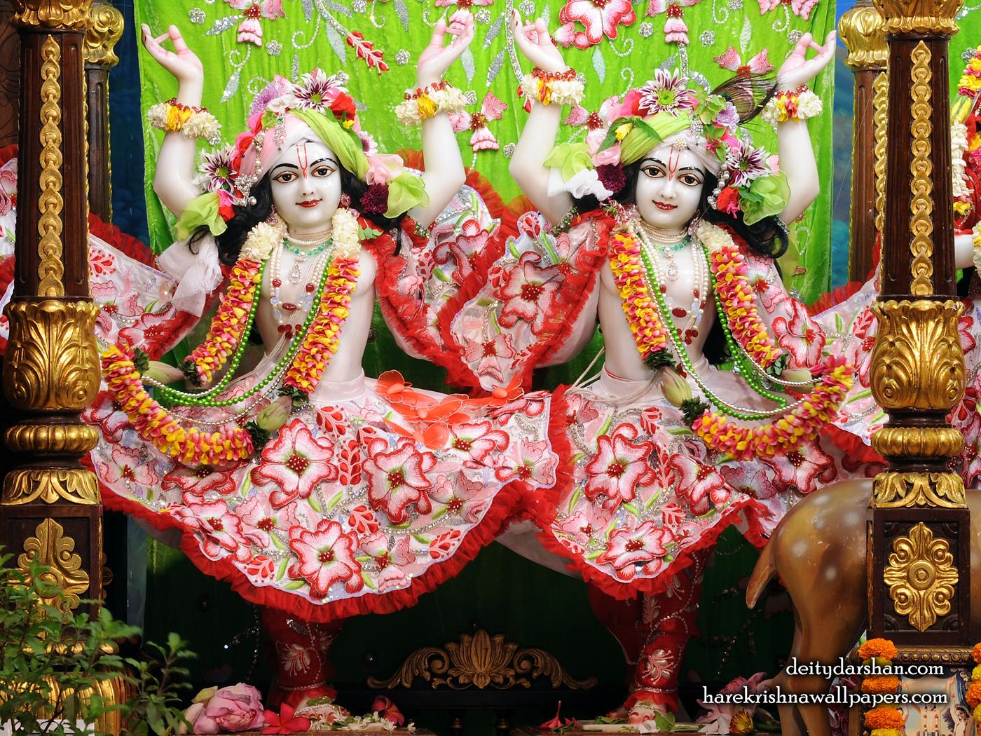 Sri Sri Nitai Gaurachandra Wallpaer (027) Size 1400x1050 Download