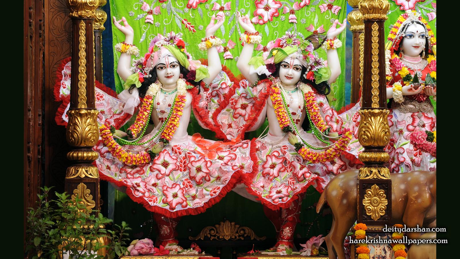 Sri Sri Nitai Gaurachandra Wallpaer (027) Size 1600x900 Download