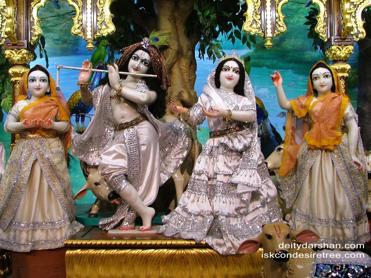 Sri Sri Radha Gopinath Lalita Vishakha Wallpaper (027) Size 1200x900 Download