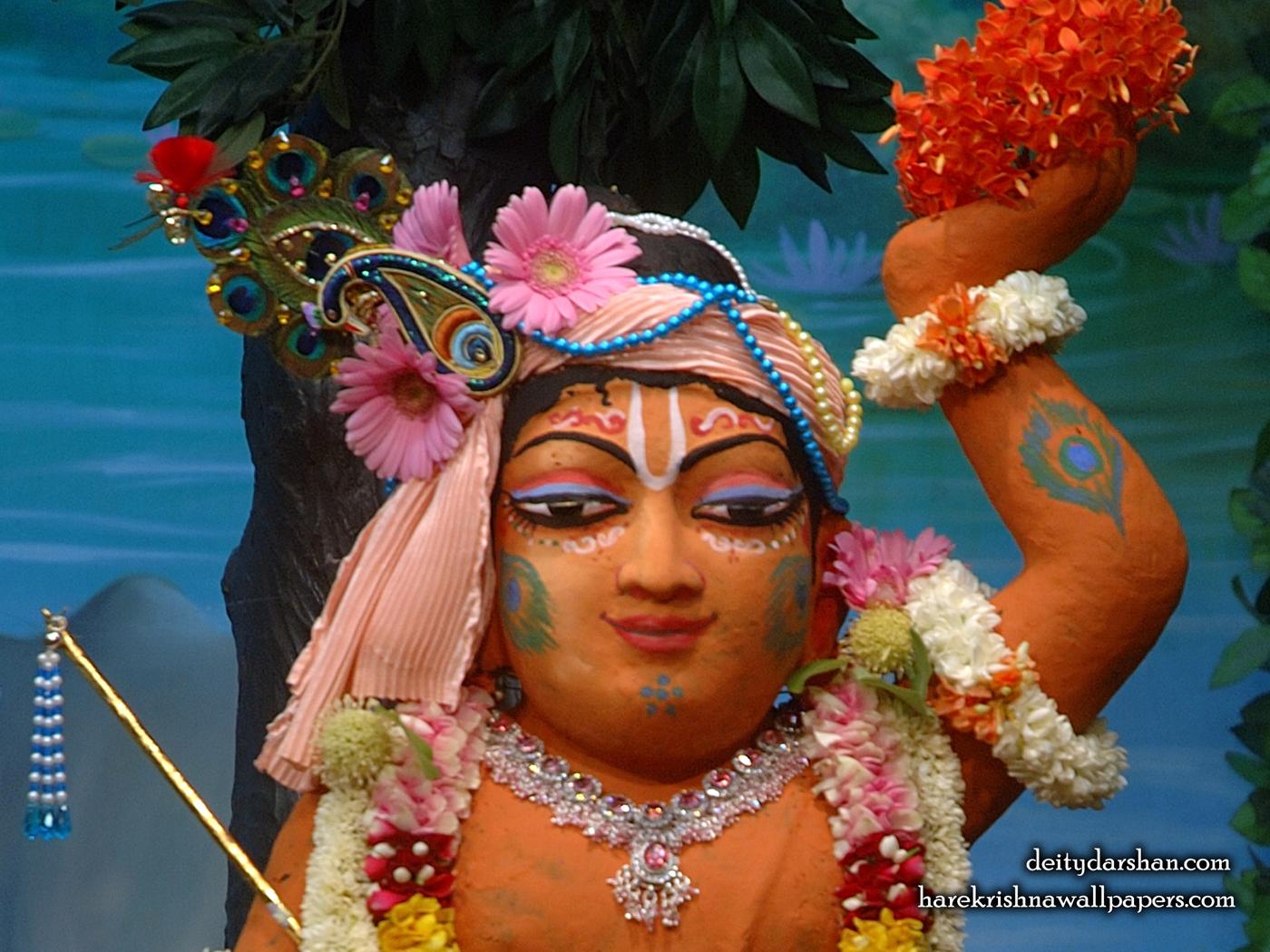 Sri Gopal Close up Wallpaper (030) Size 1400x1050 Download