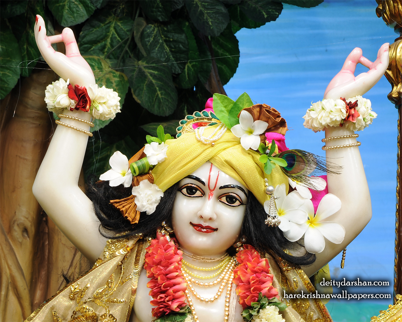 Sri Gaurachandra Close up Wallpaper (035) Size 1280x1024 Download