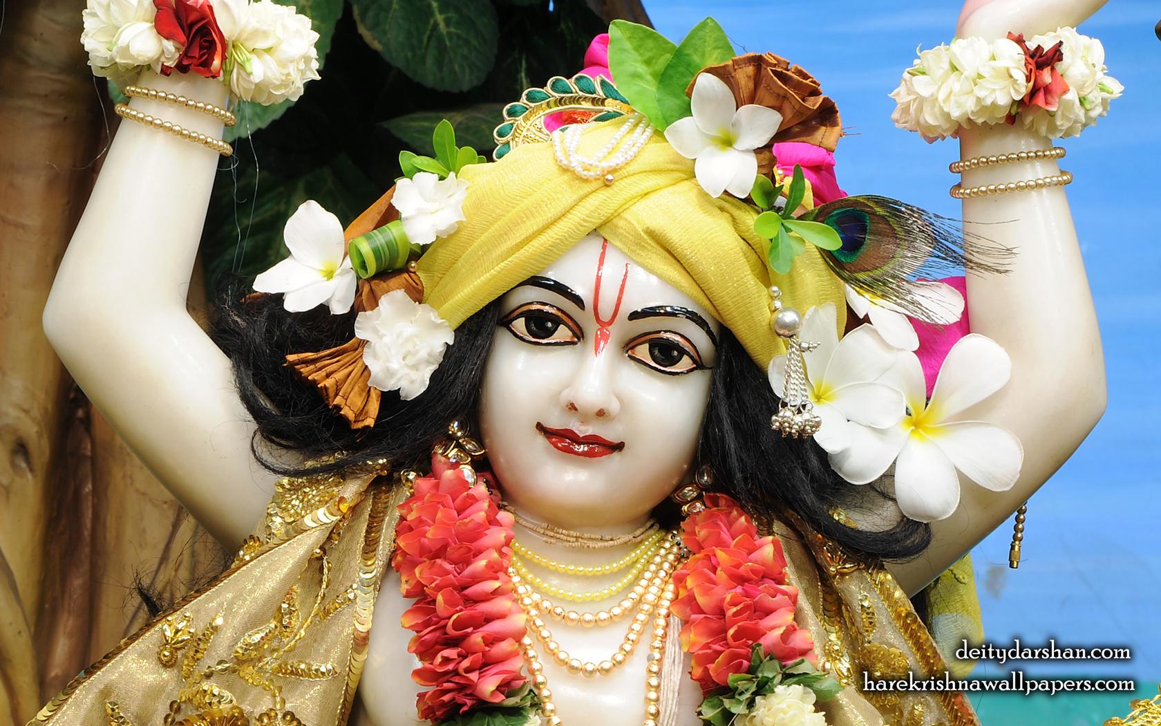 Sri Gaurachandra Close up Wallpaper (035) Size 1680x1050 Download