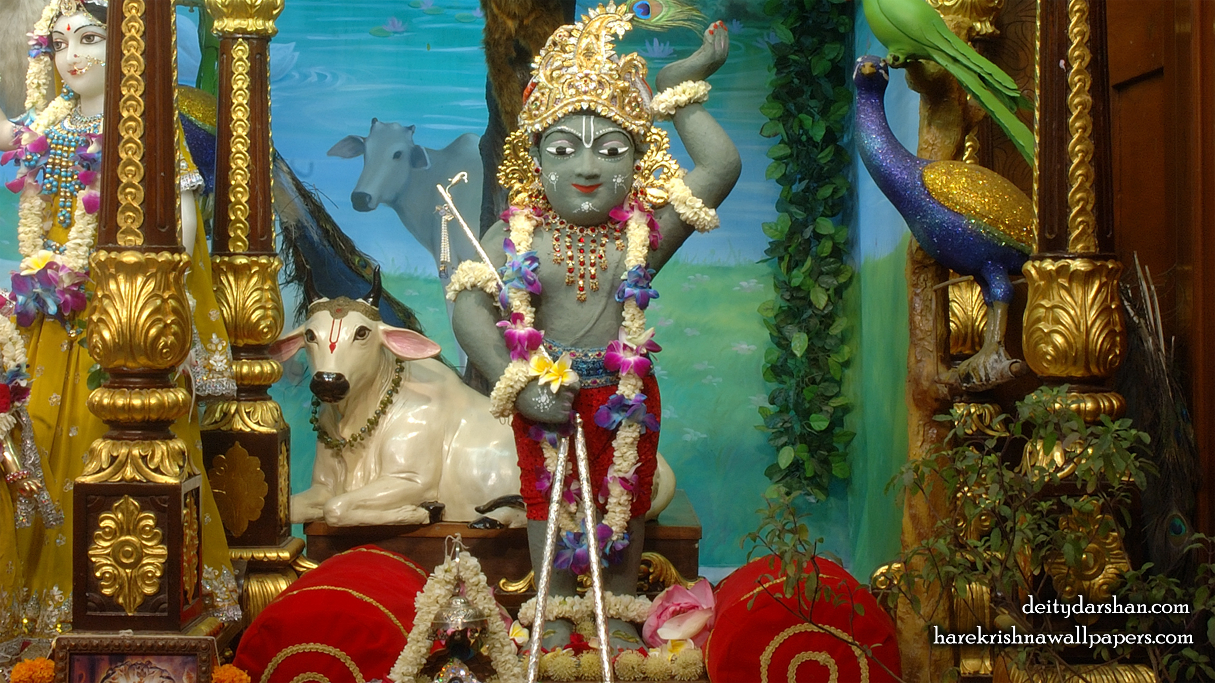 Sri Gopal Wallpaper (035) Size 2400x1350 Download