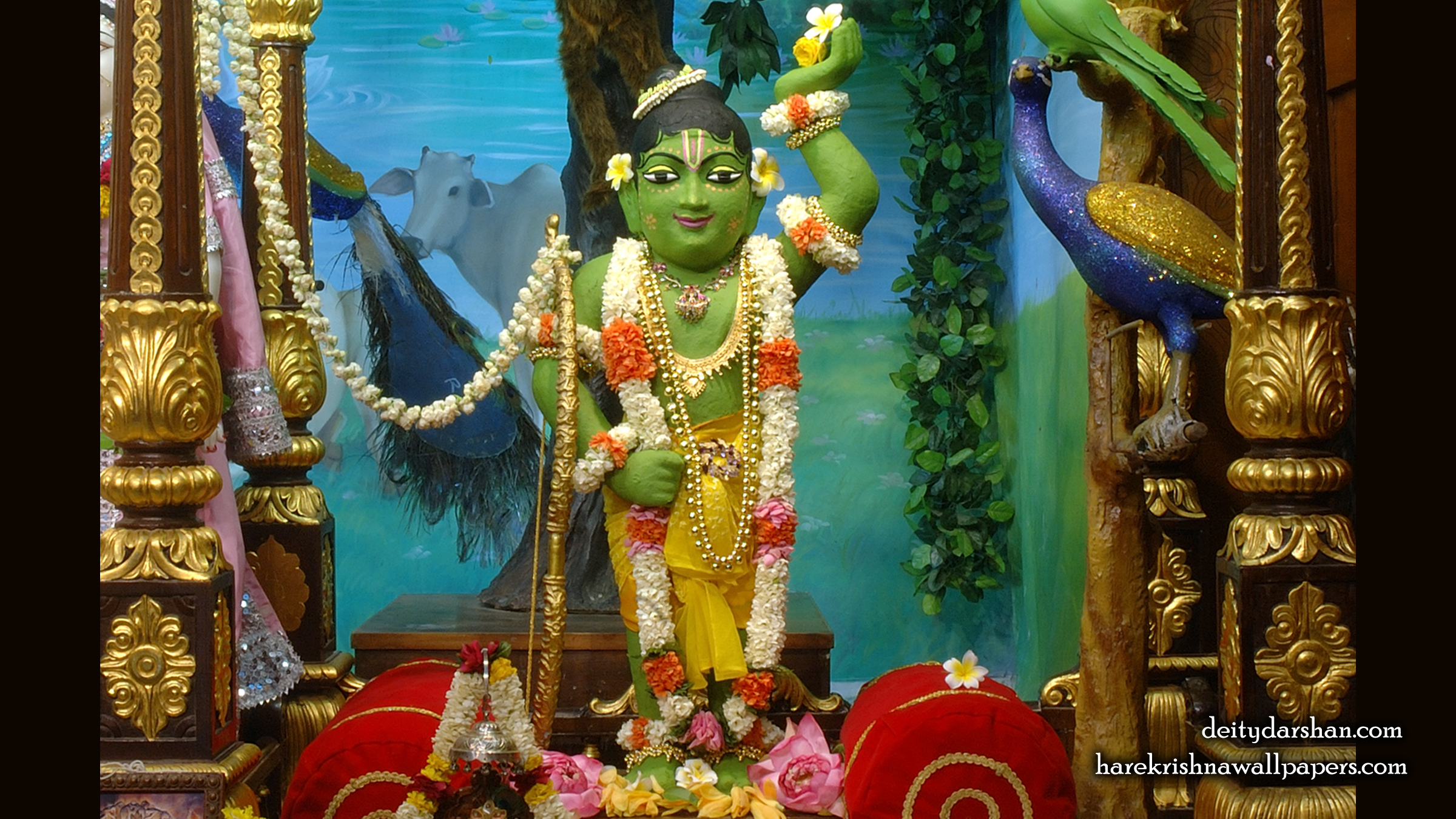 Sri Gopal Wallpaper (036) Size 2400x1350 Download