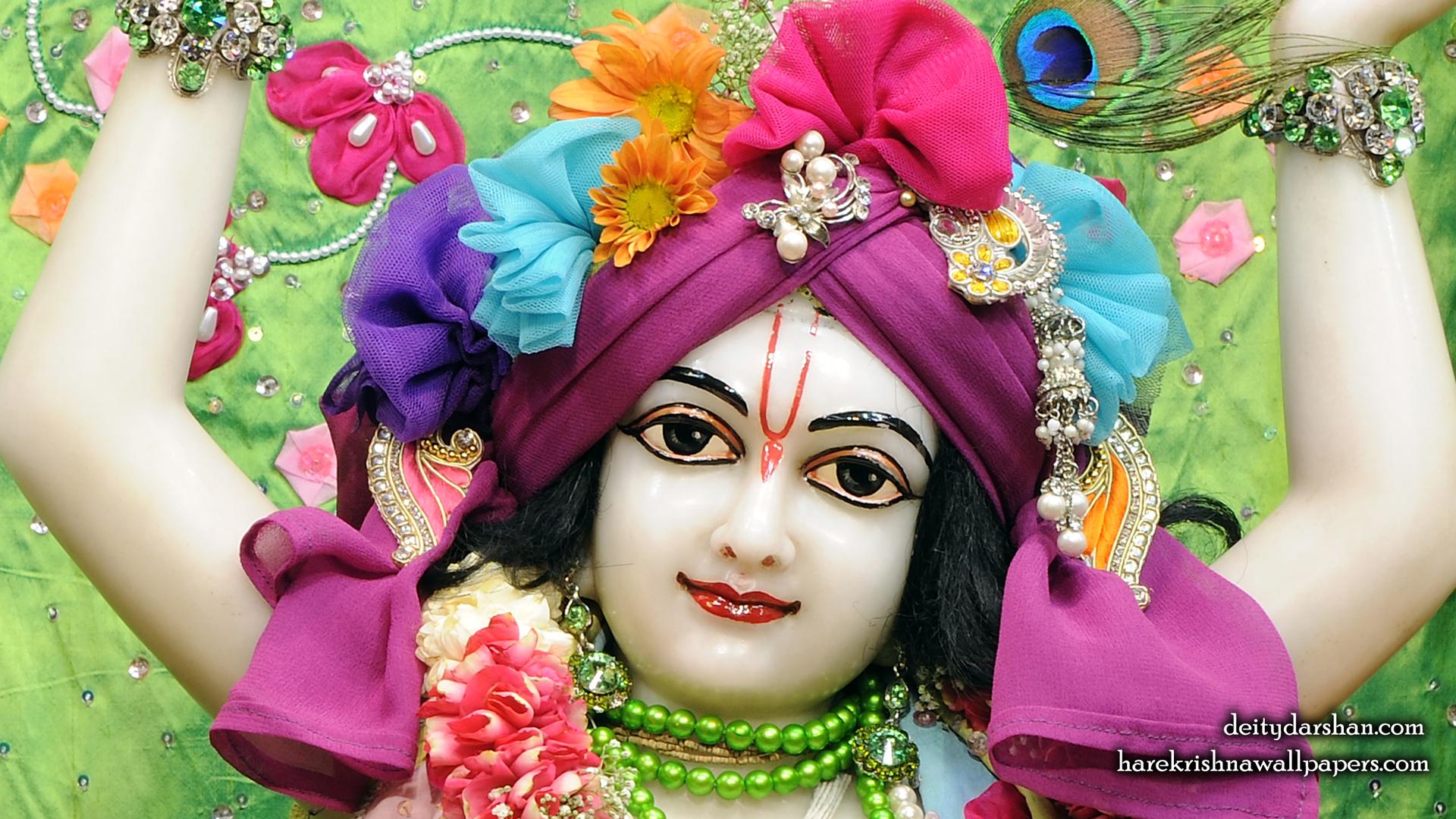 Sri Gaurachandra Close up Wallpaper (037) Size 1920x1080 Download